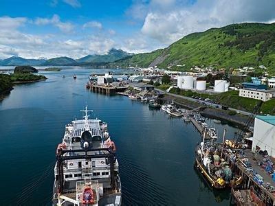 该岛是科迪亚克群岛的主岛,也是阿拉斯加州第一大岛和仅次于夏威夷