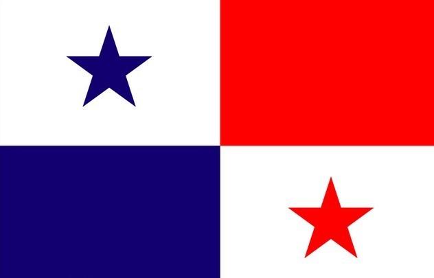 代表巴拿马位于南美洲,北美洲