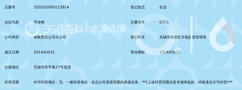 上海康业建筑装饰工程有限公司无锡分公司