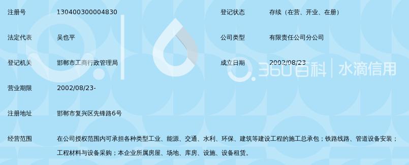 中铁三局集团有限公司桥隧工程分公司