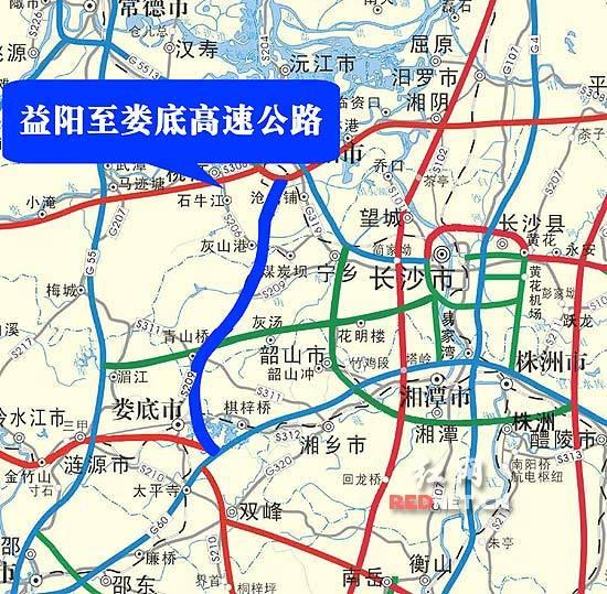 项目主线按双向四车道高速公路标准建设,设计速度为100km/h,路基宽度