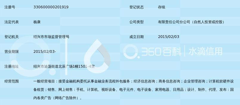 深圳前海达飞金融服务有限公司绍兴分公司_3