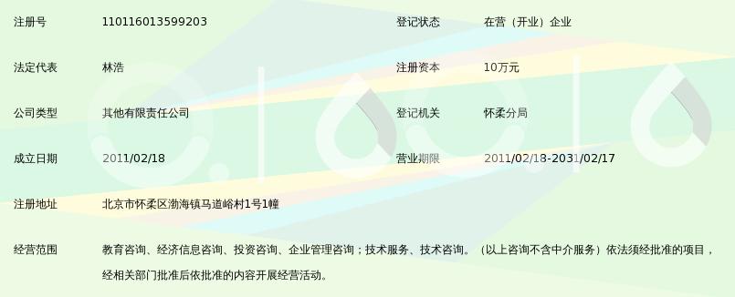 北京乐思爱学教育咨询有限公司_360百科
