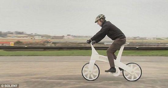 而后组装成自行车,相比之下
